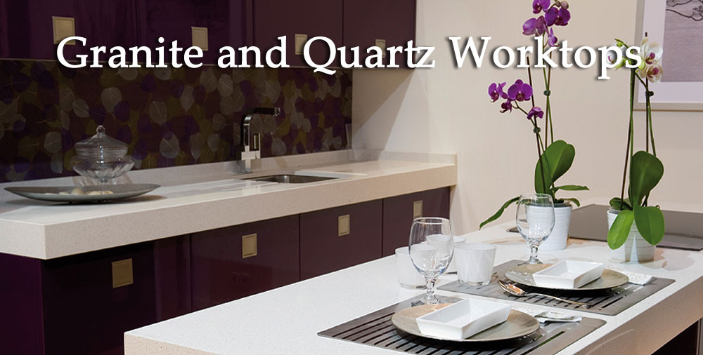 Granite and Quartz worktops