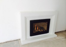 The Maddison in Polare White with Synergy Gas Fire