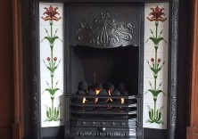 Cast Fireplace
