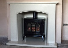 Bespoke Design Fireplace and Inglenook with Gas Stove