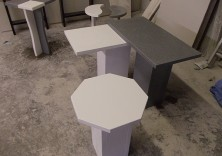 Bespoke quartz and marble tables