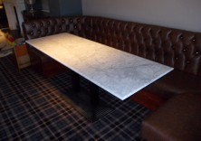 Kenya quartz table tops at Ramside Hall Hotel