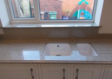 Genesis quartz kitchen worktops
