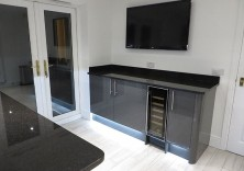 Indian Black Pearl granite worktops