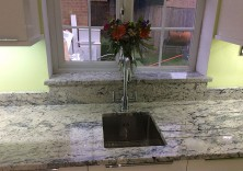 Ice White granite kitchen worktops