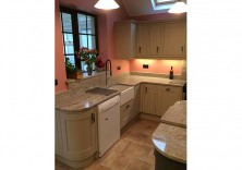 Ivory Silk granite worktops