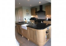 Black Starlight quartz worktops