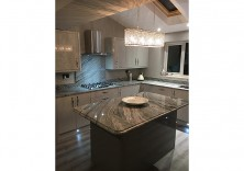 Viscount White granite worktops